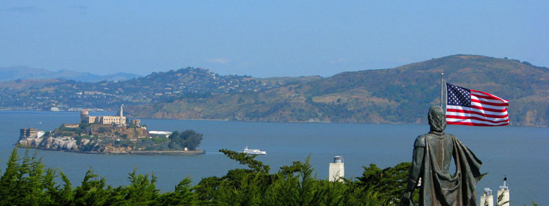 Alcatraz-from-Coit-Tower-–Telegraph-Hill