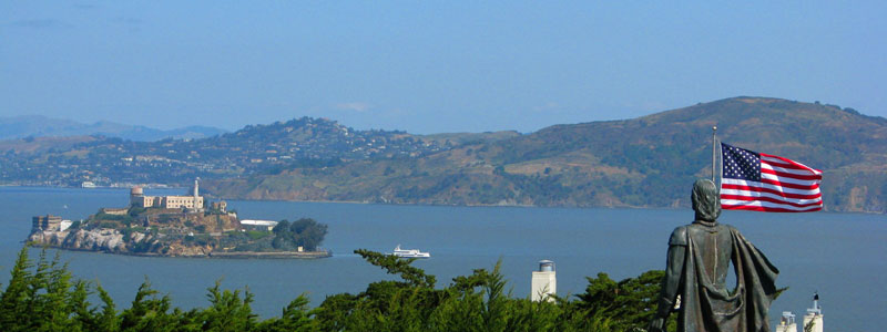 Alcatraz-Island--in-San-Francisco-Bay