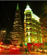 San Francisco photos at night