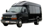 transportation van Minibus city tour